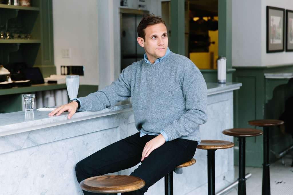 Matthew Scanlan, co-founder of Naadam.
